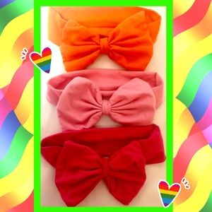 Set of 3 Large Bows NEW